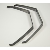 Carbon Fibre undercarriage for 50e and 50 size nitro