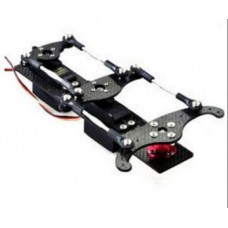 Carbon Fibre Double Servo tray for rudder closed loop control