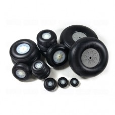 1 Pair of  Wheels with Plastic Hub for RC Airplane